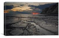 After Sunset, Canvas Print