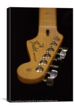 Fender Stratocaster, Canvas Print