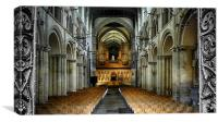 Rochester Cathedral Interior, Canvas Print