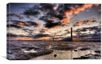 Isle of Grain Power Station, Canvas Print