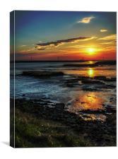 Marsh Sunset, Canvas Print