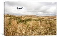 Eurofighter Typhoon South Downs, Canvas Print