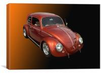 1963 VW Beetle, Canvas Print