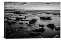 Seaside Rock, Canvas Print