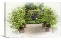 The Secret Garden, Canvas Print