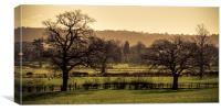 Duffield landscape, Canvas Print