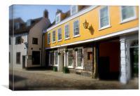 Elm Hill Norwich UK, Canvas Print