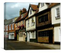 Princes Street Norwich, Canvas Print