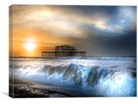 Solstice storm, Canvas Print