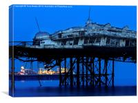 West Pier , Canvas Print