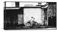 Malaysian Graffiti, Canvas Print