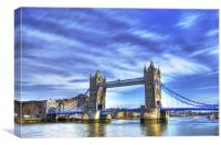 Tower Bridge ,London, Canvas Print