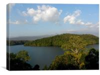 The Picturesque Neyyar River, Canvas Print