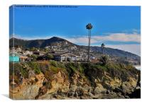 The Cliffs Of Laguna Beach, Canvas Print