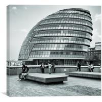 City Hall, London, Canvas Print