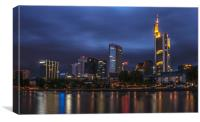 Frankfurt, Germany, Canvas Print