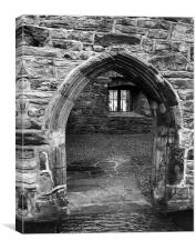 Donegal Castle Door, Canvas Print