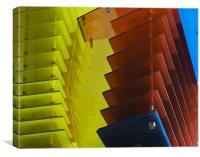 Abstract Panels, Canvas Print