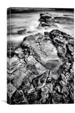 Water and Rock, Canvas Print