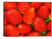 Strawberrys, Canvas Print