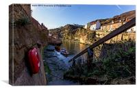 Staithes North Yorkshire, Canvas Print