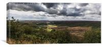 Hole Of Horcum, Canvas Print