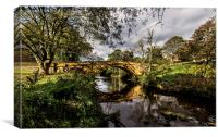 Lealholm Bridge, Canvas Print