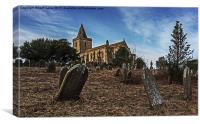 St Oswald Church Lythe, Canvas Print