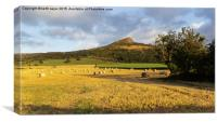 Roseberry Topping, Canvas Print