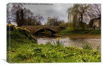 The Bridge At Sinnington, Canvas Print