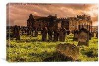 St Marys Church Whitby, Canvas Print