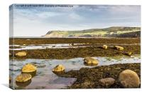 Ravenscar Cliffs, Canvas Print
