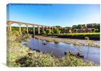 Larpool Viaduct , Canvas Print