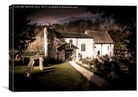 St Gregorys Minster, Canvas Print