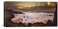 Stormy Sea, Canvas Print