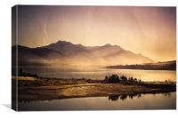 Threewaters Kloof Dam, Canvas Print