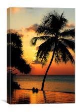 For YOU. Dream Comes True. Maldives, Canvas Print