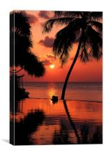 For YOU. Dream Coming True I. Maldives, Canvas Print