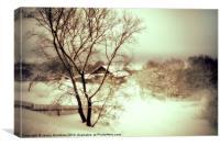 Winter Loneliness, Canvas Print