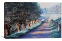 By Road of Your Dream. Monet Style, Canvas Print