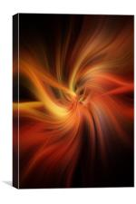 Essential Vibrations of Light, Canvas Print