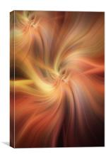 Doubled Vibrations of Light , Canvas Print