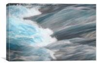 Water Rush                                   , Canvas Print