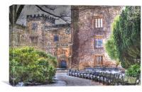 Towneley Hall, Canvas Print