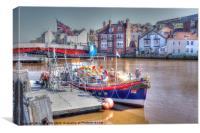 Lifeboat, Canvas Print