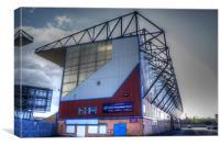 Turf Moor, Burnley FC., Canvas Print