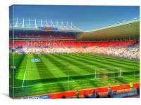 Stadium of Light, Sunderland, Canvas Print