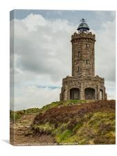 Darwen Jubilee Tower, Canvas Print
