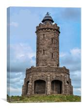 Tower at Darwen, Canvas Print