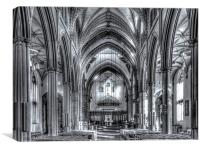 Blackburn Cathedral, Canvas Print